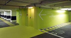 Garage wayfinding signage design google search parking for Graphic design frankfurt