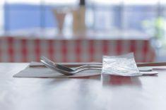 画像の中のレストラン stock photo