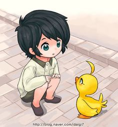 oh my gosh this is so adorable! baby fakir and duck :) Belle Cosplay, Princess Tutu Anime, Princesa Tutu, Snow White With The Red Hair, Mermaid Melody, Girls Rules, Magical Girl, Anime Couples, Kawaii Anime