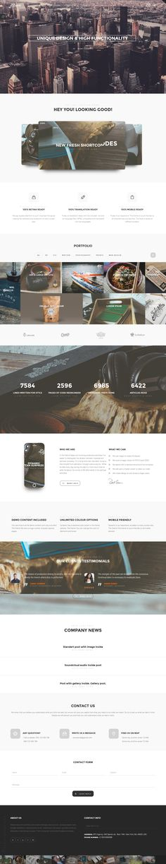 The Dynamic - High-Performance Wordpress Theme | #webdesign #it #web #design #layout #userinterface #website #webdesign repinned by www.BlickeDeeler.de | Visit our website www.blickedeeler.de/leistungen/webdesign