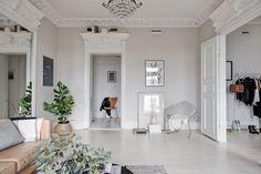 Шик и простота по-скандинавски (61 кв. м)   Пуфик - блог о дизайне интерьера