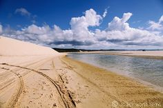 Stunning Waddy Point on Fraser Island, Australia -- Read more: http://www.asherworldturns.com/champagne-pools-and-waddy-point/