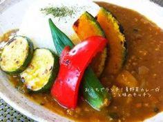 おうちでランチ!夏野菜カレー☆の画像