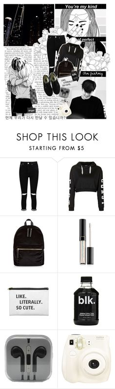 """""""My arms get cold in February air. Please don't lose hold of me out there. // Set #389"""" by sammisolace ❤ liked on Polyvore featuring Boohoo, Topshop, New Look, Estée Lauder, Blink, Fujifilm, Vans, Again, zelo and bap"""