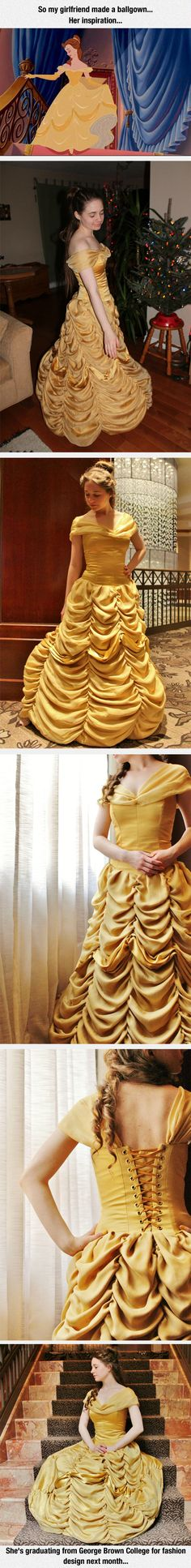 Amazing Dress Inspired By Belle the Beauty