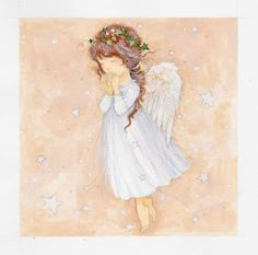 Leading Illustration Agency and Publishing Agent based in London, New York & Marbella. Representing the worlds leading Artists and Photographers with key principles are Fairness, Ability, Creativity, Trust. Christmas Angels, Christmas Art, Engel Illustration, Angel Drawing, Images Vintage, Ange Demon, Angel Pictures, Angels Among Us, Angel Cards