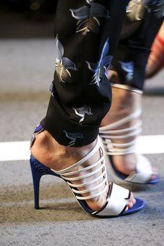 Fendi S/S 15 High Heeled Sandals