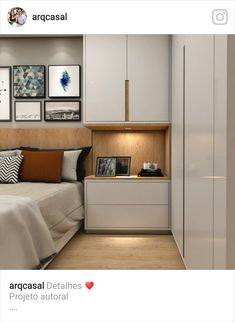 Wardrobe Design Bedroom, Bedroom Built Ins, Bedroom Furniture Design, Bedroom Decor, Modern Bedroom Design, Small Master Bedroom, Interior Design Bedroom Small, Modern Bedroom Interior, Modern Bedroom