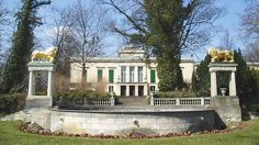 Schloss Glienicke (Glienicke Castle) - Berlin, Germany  Glienicke) is located on the Island of Berlin-Wannsee, near the Glienicke Bridge, on the B1 across from the Glienicke Hunting Lodge. It was designed by Karl Friedrich Schinkel for Prince Carl of Prussia in 1826, The building, originally merely a cottage, was turned into a summer palace in the late classical style.