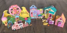 Sweet Streets Lot Country Fair Pool Camp IceCream Truck Store Accessories People  | eBay