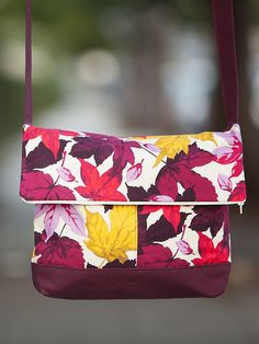 Easy fold over bag sewing project