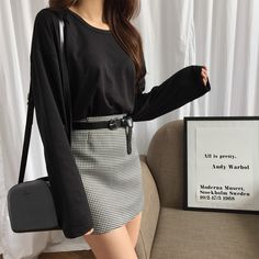This shirt and skirt OOTD is all you need to look smart, chic, and sexy!