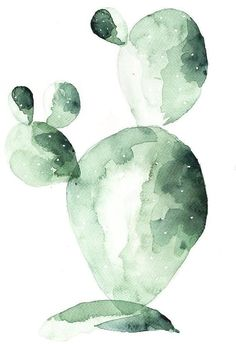 Poster Cactus Print of Watercolor Painting - & Friend& .- Poster-Kaktus-Druck der Aquarell Malerei – 'Kaktus Friend' – Qualitätspapier – einzigartiges Design – Wanddekoration – Poster – Bar Cactus print of watercolor painting cactus friend - Watercolor Cactus, Watercolor Print, Simple Watercolor, Cactus Painting, Watercolor Succulents, Watercolor Paintings Abstract, Green Watercolor, Watercolors, Bar Kunst