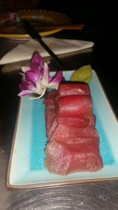 Tuna and orchids