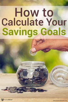 Savings Goal Calculator - How Much Should I Save Each Month? - Finance tips, saving money, budgeting planner Save Money On Groceries, Ways To Save Money, Money Saving Tips, Money Tips, Money Savers, Saving Ideas, Financial Tips, Financial Literacy, Budgeting Finances