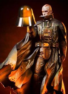 Darth Vader reflecting