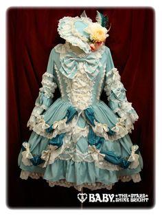 Baby, The Stars Shine Bright (BTSSB) rococo lolita dress.