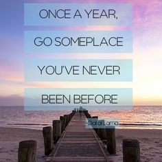 Where do YOU plan to go in 2013?