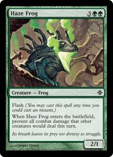 Magic: the Gathering - Haze Frog - Rise of The Eldrazi Can You Feel It, How Are You Feeling, Natalie Shaw, Magic The Gathering Karten, Tech Deck, Magic Cards, Scary Halloween, Halloween Ideas, Summoning