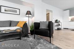 Rekonstrukce bytu v Želešicích. Inspirace pro vybavení a dekoraci obývacího pokoje. #homedesign #livingroom #decoration #homedecoration Love Seat, Couch, Furniture, Home Decor, Settee, Decoration Home, Sofa, Room Decor, Home Furnishings