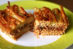 recipe macaroni bechamel egyptian