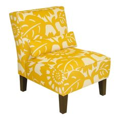 Blossom Accent Chair in Sungold