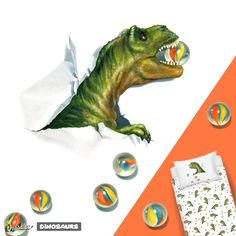 When your toy dinosaur comes to life and wants to play. T Rex Shirt, Dinosaur Illustration, Dinosaur Shirt, Marbles, Design Crafts, Dinosaur Stuffed Animal, Designers, Toy, Hand Painted