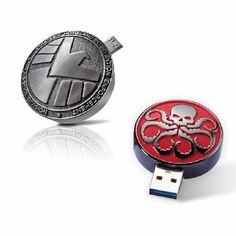 Marvel Agents of S., which is based on the Marvel Comics organization S. (Strategic Homeland Intervention, Enforcement, and Logistics Division), revolves around the character of Ph Usb Drive, Usb Flash Drive, Avengers, Marvel Fan, Marvel Comics, Marvels Agents Of Shield, Phil Coulson, Princesas Disney, Marvel Cinematic Universe