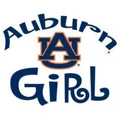 Auburn Tigers GIRL Clear Vinyl Decal Car Truck Sticker AU