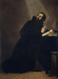 Jusepe de Ribera - Saint Augustine of Hippo. Museo Nacional del Prado, Madrid, Spain.