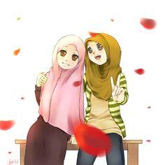 Hijabis by FaceTheWorldDude.deviantart.com on @deviantART