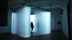 Isotopes, An Interactive Audiovisual Installation That Surrounds Participants with Walls of Light