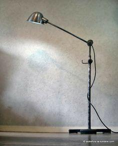 RG Levallois Industrial Lamps. #LaBoutiqueVintage