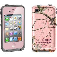 pink camo life proof case 4s - luv it! Sooo cute!❤ Bluetooth aca76c075