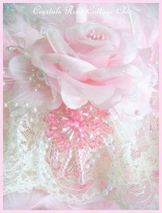 Shabby Chic Pink Rose Romantic/Victorian Ornament/Decor Pink Tree Pink Christmas Decor Pink Princess