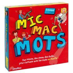 Devinettes, rimes, mimes, duels... Autant de façons de jouer intelligemment avec les mots ! Toutes les épreuves comportent 3 niveaux pour donner autant de chances de gagner aux enfants qu'aux adultes. Un mode de jeu en équipe et des parties courtes pour encore plus de rires !