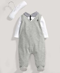 Welcome to the World Mock Layer All in One - All Boys - Mamas & Papas | 0-3 months