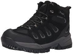 Propet Men's Ridge Walker Hiking Boot, Black, 15 5E US