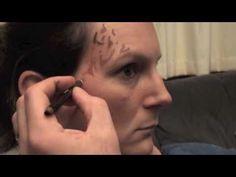 Jadzia Dax Make Up Tutorial (Jadzia from Star Trek Cosplay, Epic Cosplay, Male Cosplay, Film Star Trek, Star Trek Movies, Timeline Movie, Star Trek Party, Star Trek Convention, Deep Space 9