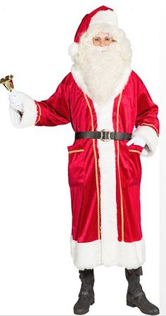 Joulupukin manttelitakki premium kulta