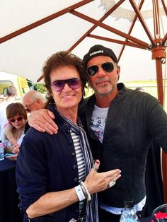 Yours Truly and my other half... Chad Smith. Top drummer & The funniest man on the Planet
