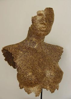 Cardboard sculptures made with recycling carboard Cardboard Sculpture, Cardboard Art, Animal Sculptures, Lovers Art, Animal Print Rug, Deco, Gallery, Nude, Woman