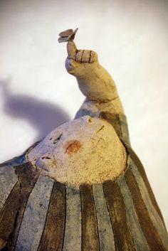 Anne-Sophie Gilloen: sculpture. GIANTS butterfly