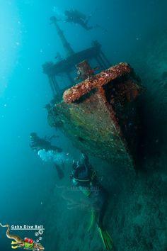 Padang Bai dive sites: scuba in Blue Lagoon, Jepun & Shark Point.