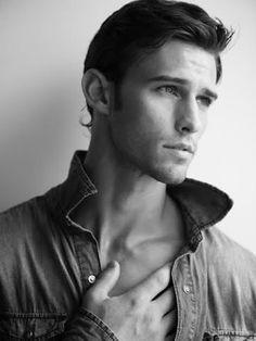 Jay Byars - model | Men haircut styles, Scruffy men
