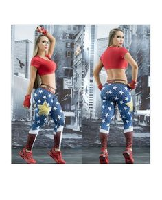 2474b7c5e3dc4 Star Princess Leggings #Superhero #supergirls #leggings #Marvel #Comics # fitness #