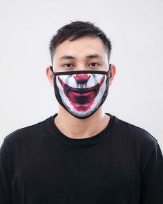 Halloween Men, Halloween Face Mask, Halloween Makeup Looks, Diy Mask, Diy Face Mask, Face Masks, Easy Diy Costumes, Clown Faces, Male Face