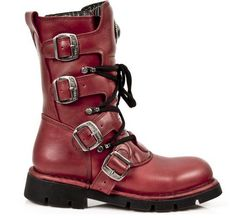 Red New Rock Women's 1473-S12 Boot, deals are available at an exclusive lowest price at our website only. Price ranges :- £82.26 - £153.99