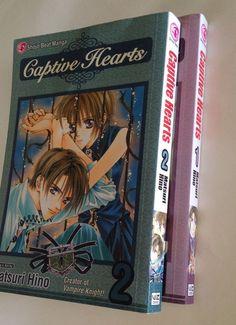 Captive Hearts Volumes 1 2 Shojo Beat Manga Book Matsuri Hino Viz Media Matsuri Hino, Manga English, Viz Media, Manga Books, Vampires, Knights, Bjd, Hearts, Knight