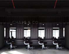 4 Chairs. Chaps & Co Barbershop JLT, Dubai, UAE